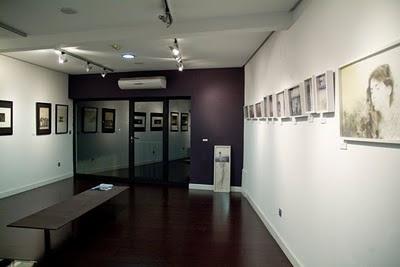exposición individual de grabado de la artista Helena Losada