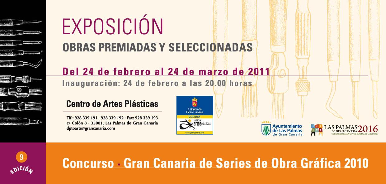 Concurso Gran Canaria de Series de Obra Gráfica 2010