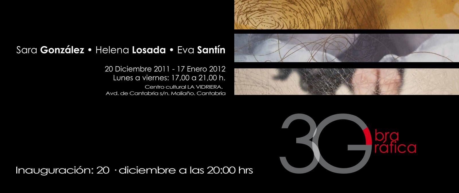 Exposición de obra gráfica 3G