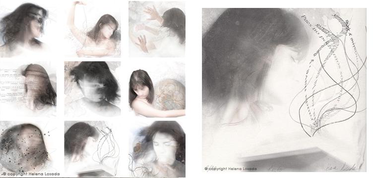 serie de grabados Mnemosine - Helena Losada