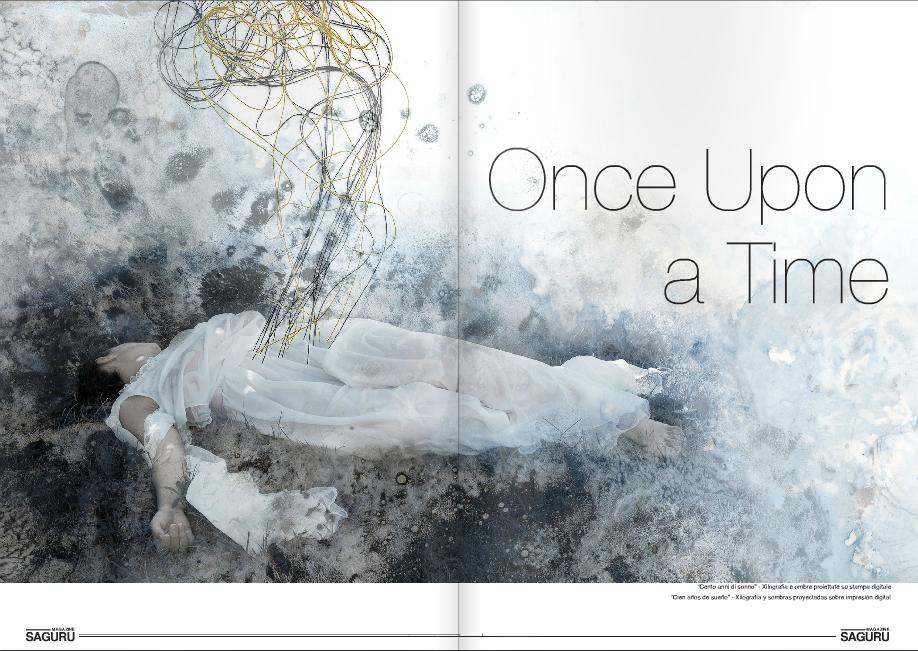 Saguru Magazine, reportaje Helena Losada