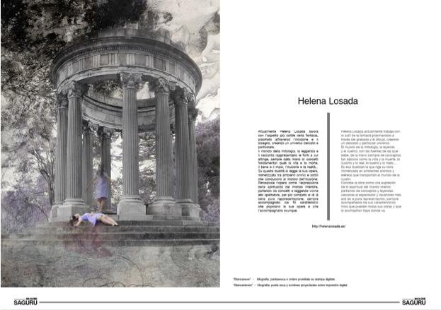 revista Saguru Magazine, reportaje Helena Losada