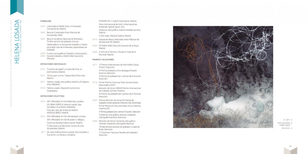 pagina catálogo Helena Losada