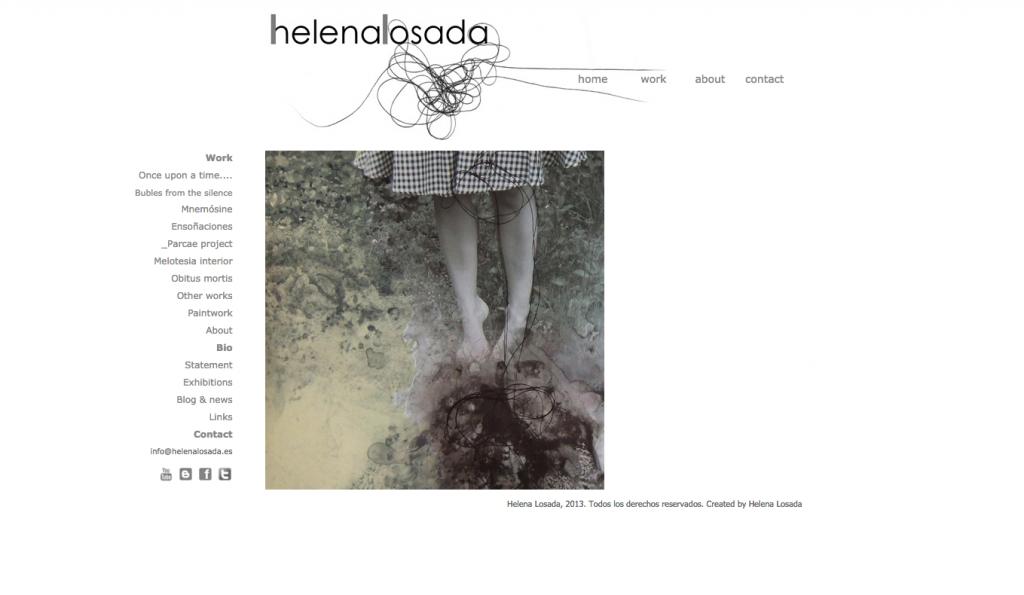 web Helena Losada