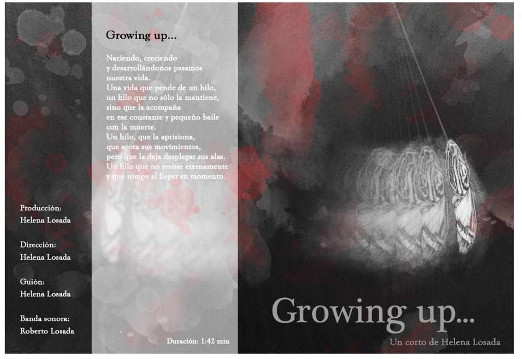 caratula dvd growing up...