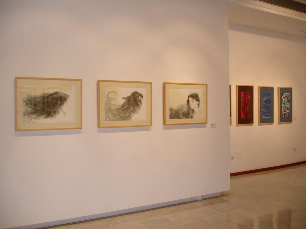Concurso Gran Canaria de Series de Obra Gráfica - primer premio Helena Losada