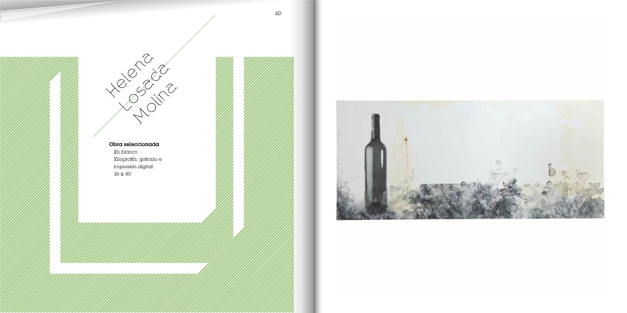 Obra seleccionada en el IV Premio Internacional de Grabado y Vino Bodegas Dinastía Vivanco 2011