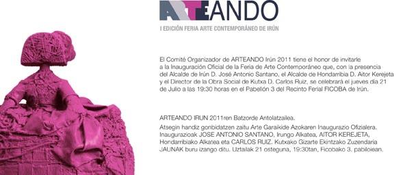 INVITACION arteando - Helena Losada