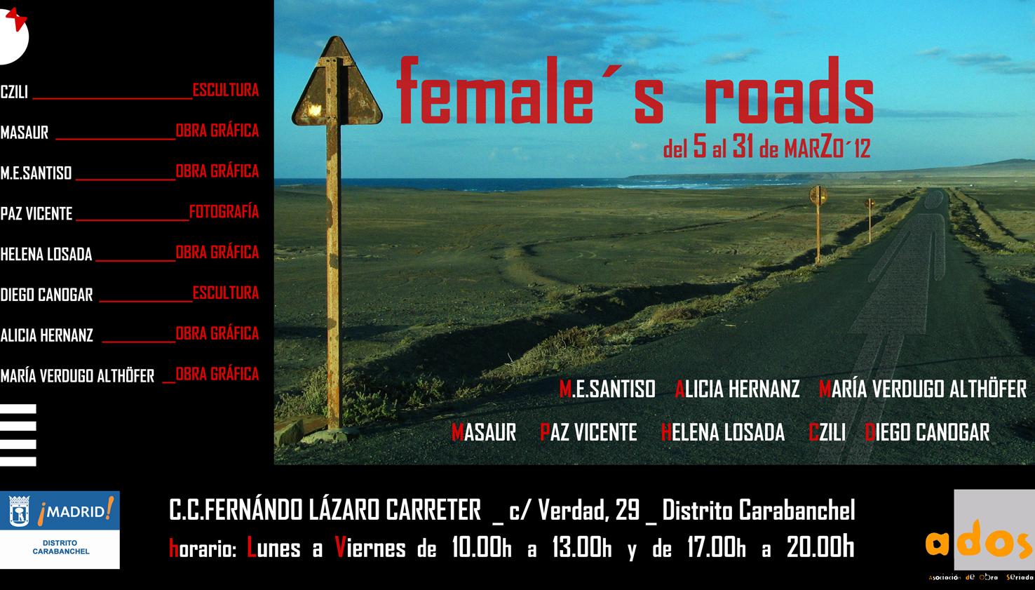 Próxima exposición: Female's road