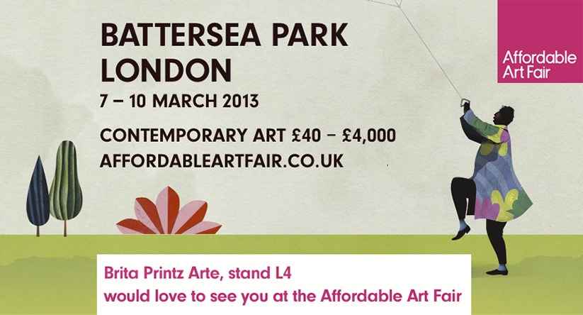AAF. Affordable Art Fair. London, Battersea