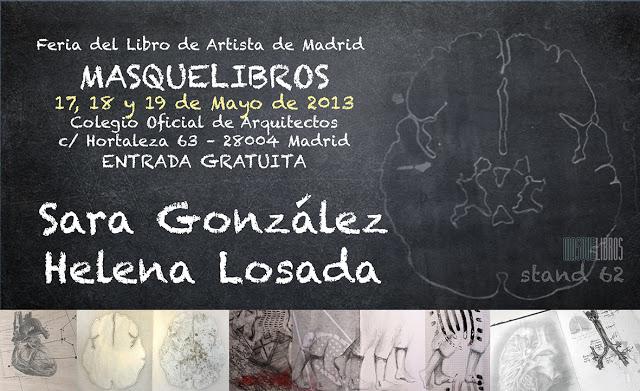 Helena Losada - Feria del Libro de Artista Masquelibros 2013