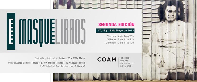 Participación en MASQUELIBROS Feria del Libro de Artista de Madrid