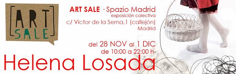 Exposición: ART SALE en Spazio Madrid del 28 Nov al 1 Dic