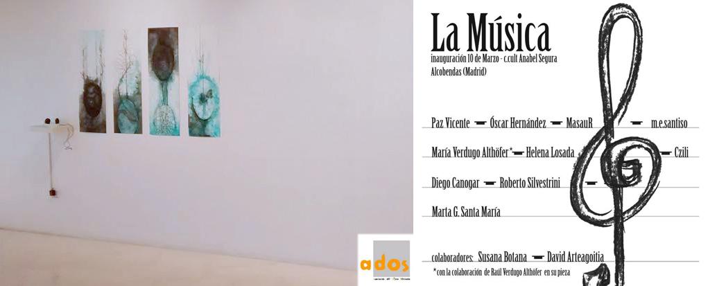 Próxima exposición sobre La Música con el colectivo Ados