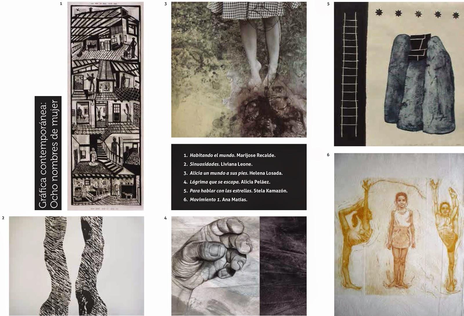 Próxima exposición «Gráfica contemporánea: 8 nombres de mujer»