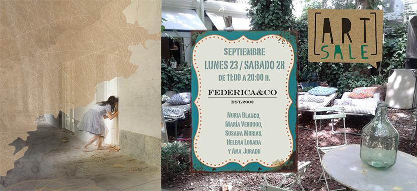 ART SALE en Federica & Co.