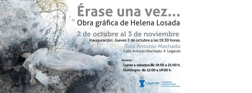 """Exposición individual """"Érase una vez…"""" en Leganés"""