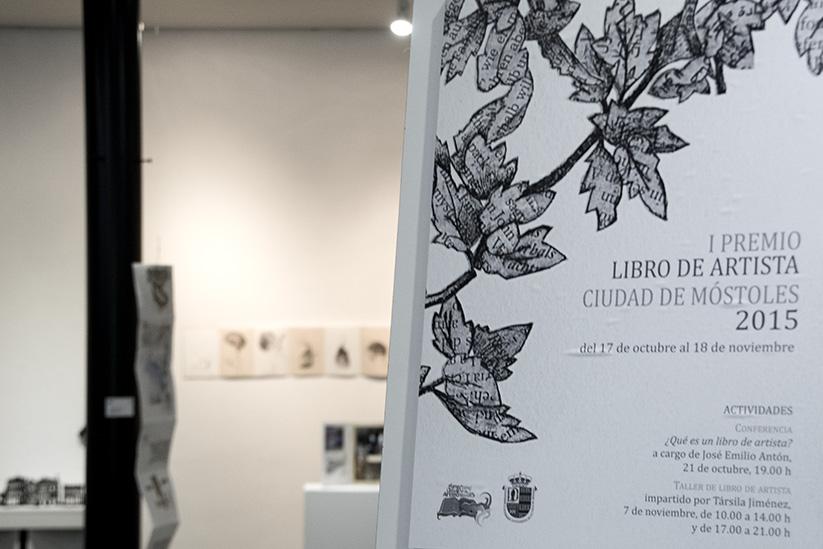 Inauguración del Primer Premio Libro de Artista Ciudad de Móstoles