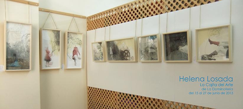 """[:es]Prorrogada la exposición individual """"Cuentos de papel""""[:en]Exposición """"Cuentos de papel"""" en La Cajita del Arte.[:]"""