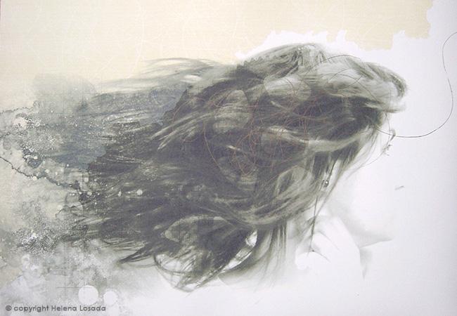 Helena Losada - Obra premiada con el Primer Premio del Concurso Gran Canaria de Series de Obra Gráfica