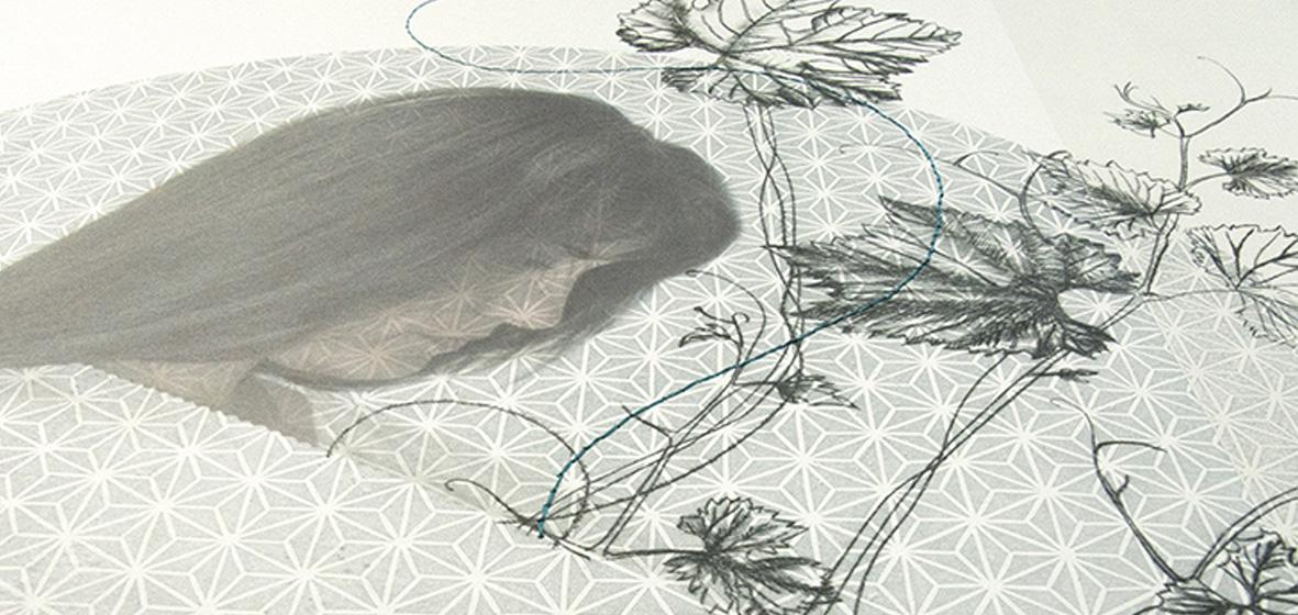 """Shinsei"" obra seleccionada en la V Bienal de Grabado Aguafuerte"
