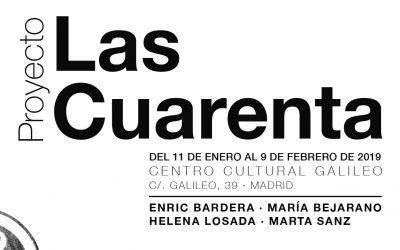 Presentación del proyecto Las Cuarenta y exposición