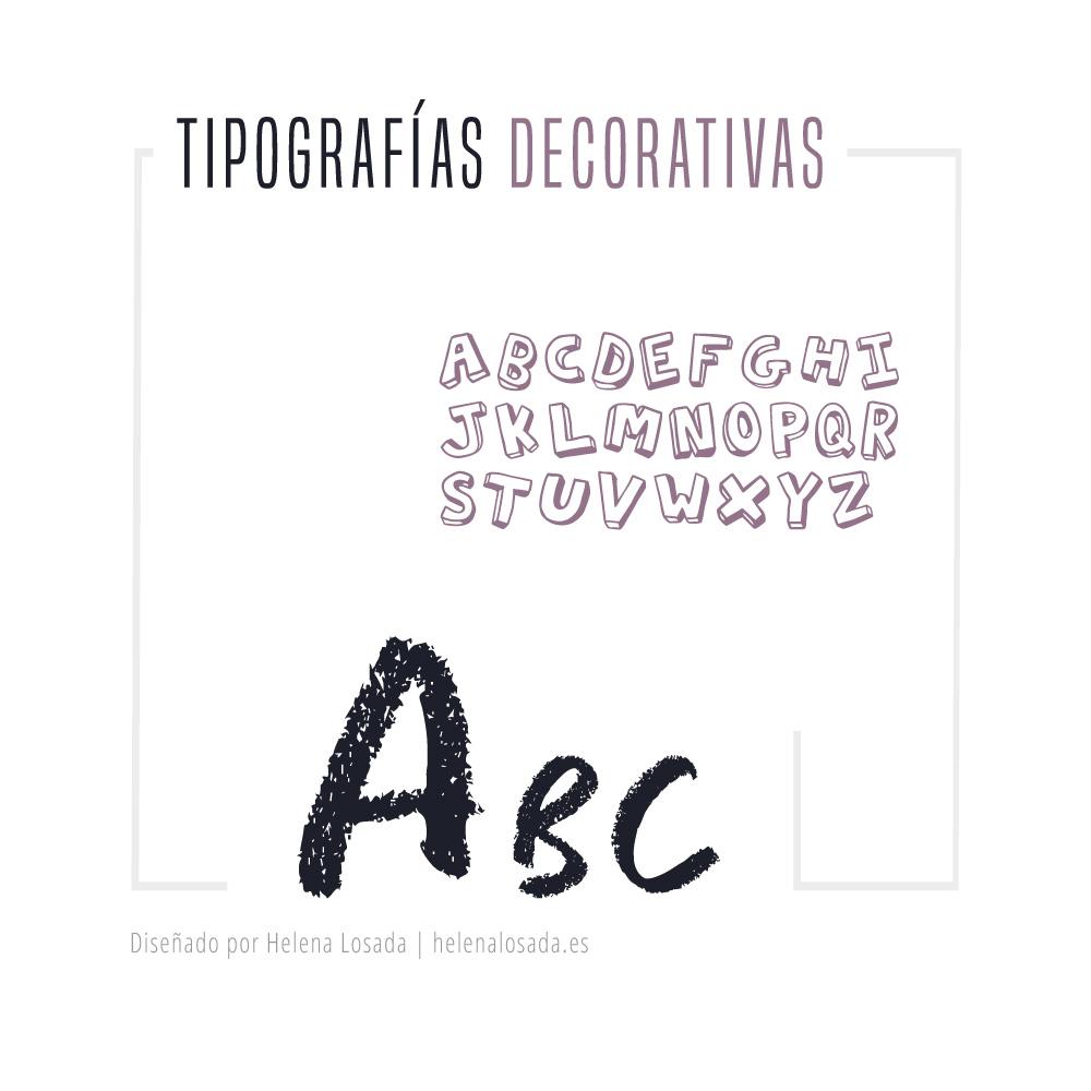 tipografias decorativas ode fantasía