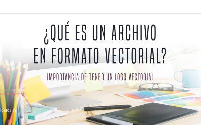 ¿Qué es un archivo en formato vectorial?