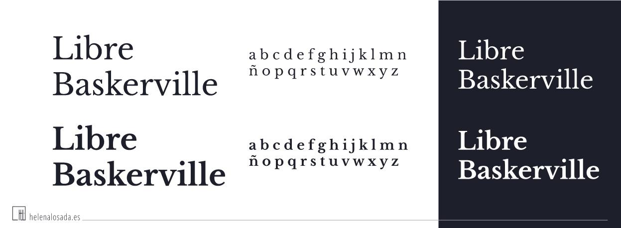 tipografia gratuita Libre Baskerville