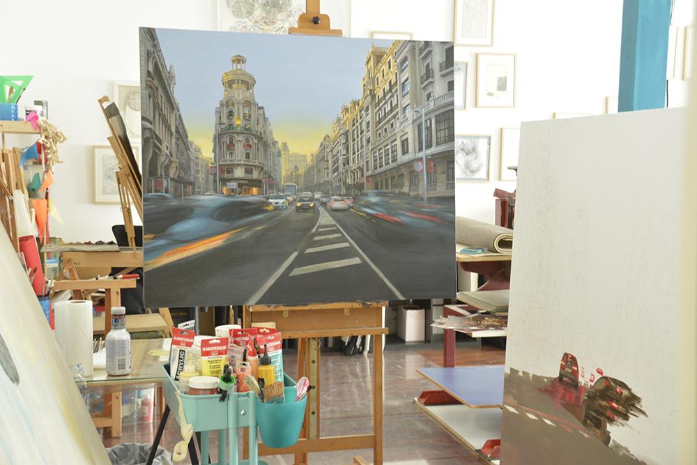 Heleia pintura realista